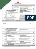 Operaciones Unitarias - Plan Calendario 2020-1
