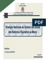 261832831 6 Stratgie Nationale de Gestion Des Boues Des Stations Depuration Au Maroc
