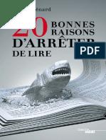 20 bonnes raisons darrêter de lire by Ménard Pierre (z-lib.org).epub.pdf