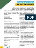 Carboidratos e Lipídios - Exercícios Aprofundados.pdf