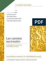 Las cuentas nacionalesTeoria Economica