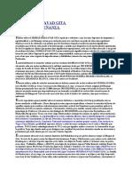 ENSEÑANZA ESOTERICA DEL BAGAVAD GITA (Carlos Raitzin)