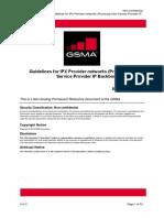 IR.34-v14.0 Guidelines for IPX Provider networks