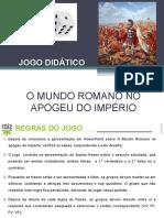Jogo - Os Romanos na Peninsula Ibérica