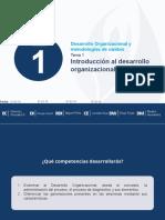 Tema 1. Introducción al Desarrollo Organizacional