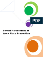 Sexual Harassment at Workplace MANUAL