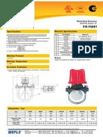 Detector de flujo-F6001