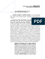 1.- Escrito solicitando apertura de periodo probatorio Juicio Ejecutivo Mercantil
