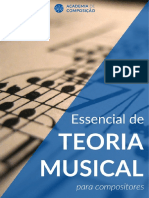 Essencial de Teoria Musical para Compositores - Thiago Schiefer