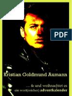 Weihnachtslyrik von Kristian Goldmund-Aumann