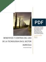 Desventajas y Beneficios de la agricultura
