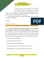 Prof Paulo Alves - Simulado de Conhecimentos Pedagógicos
