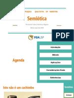 Seminário – Semiótica