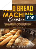 Keto Bread Machine Cookbook a Step-By-Step