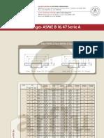 Flanges ASME B 16.47 Serie A