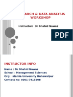 2nd Session T-Test of SPSS