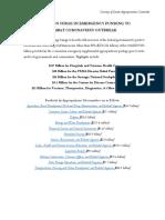 Coronavirus Supplemental Appropriations Summary_FINAL
