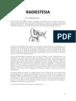 CURSO DE RADIESTESIA