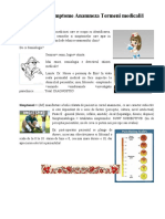 Semne si simptome Anamneza Termeni medicali1