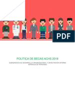 POLÍTICA BECA ACHS 2018