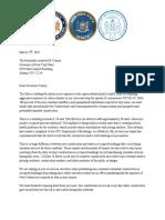 Letter to Governor Cuomo Regarding Non-Essential Construction
