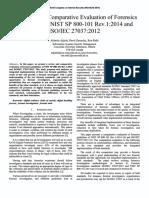 NIST SP 800-101:2014 vs ISO-IEC 27037:2012