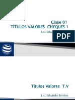 Titulos Valores - Clase 1 Títulos Valores