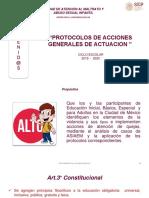 UAMASI - PROTOCOLOS DE ACCIONES