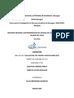 Indice Trofico de los cuerpos de agua- ICA-TDI