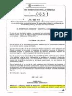 resolucion 631 2015 vertimientos