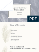 agency overview presentation