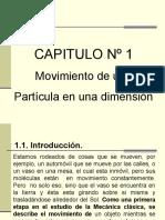 movimiento en 1D (horizontal y vertical).pps