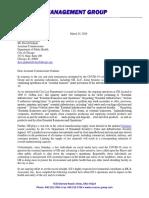 RMG-D Graham-Chicago Letter 03-24-20