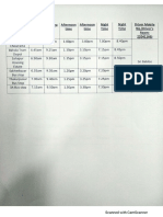 Car and Bus schedule