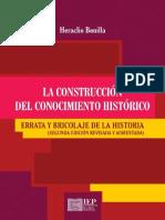 La Construcción del Conocimiento Histórico_ Errata y Bricolaje de la HistoriaConvertido (1)
