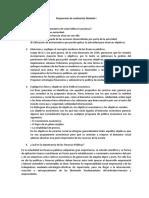 Respuestas de evaluación Modulo I