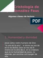 González Faus-claves de su cristología