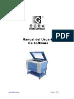 Manual software Golden Laser