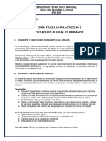 GUIA TP6 DESAGUES  PLUVIALES 2019 UTN