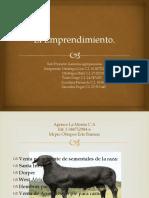 El Emprendimiento Gerencia Agropecuaria. (2) (1)