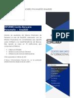 Informe Sistema Financiero Panamá Enero 2020