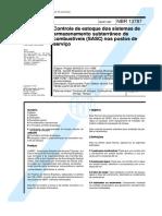 NBR 13787 - CONTROLE DE ESTOQUE DOSSISTEMAS DE ARMAZENAMENTO SUBTERRÂNEO DE COMBUSTÍVEIS SASC- NOS PRC