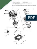 AXLE, REAR -  HUB, PLANETARY - PRIOR TO P.I.N. N8F203816