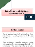 Clase 4 Los reflejos condicionados