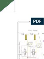 Diagrama de sistema hidráulico de retroexcavadora CAT 416F2-2