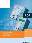 SIPROTEC Case Studies For Protective Relaying and Power Quality