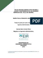 Adaptación de gestión humana para recibir a la generación Z (Centennials) en las grandes empresas del Valle de Aburrá.pdf