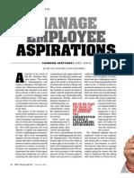 Managing Employee Aspirations_Human Factor