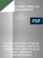 CONTRADICCIONES SOBRE LOS SISTEMAS JURÍDICOS.pptx