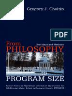 Chaitin G. - From philosophy to program size-Institute of Cybernetics, Tallinn Technical University (2003).pdf